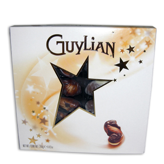Guylian Chocolates, containers and accessories