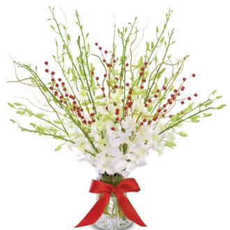 Evergreen Basket Christmas
