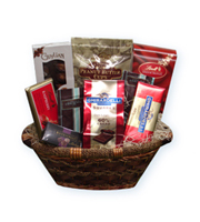 Chocolate Lovers, Ghirardelli, Linette Peanut Butter Cups, Guylian Belgian, Wythe Collection, thinking of you, congratulations, get well, gourmet baskets, corporate gifts