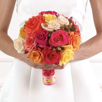 Rose Bridal Bouquet, bridal bouquet