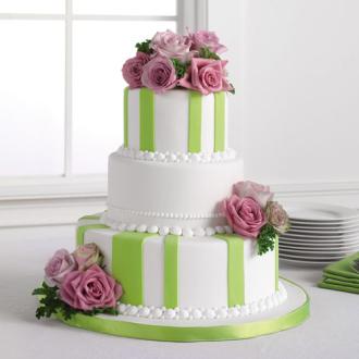 Rose Cake Flowers