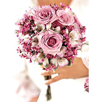 Purple Passion Bouquet, bridal bouquet