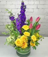Seattle Summer Flower Garden