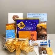 Winter Sweet and Salty Gift Basket