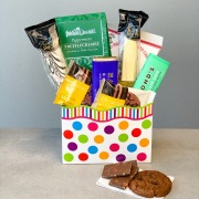 Chocolate Thank You Treat Basket