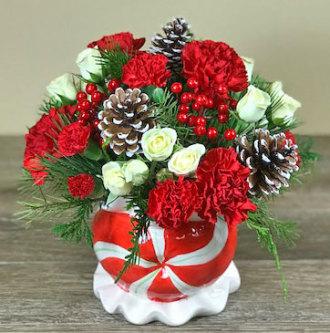 Ballard Blossom\'s Peppermint Holiday