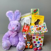 Plush Bunny with Easter Treats