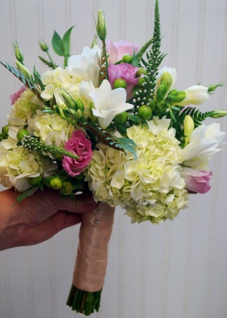 Bridal Bouquet Garden Style