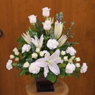 White Peace Bouquet