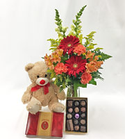 Beary Good Wishes Bouquet