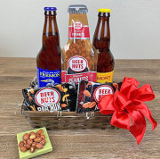 Beer and Snack Basket