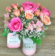 Baby Girl Love Bouquet
