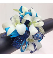 Blue Tranquility Corsage