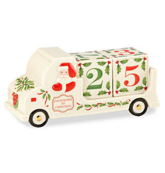 Lenox Holiday Archive Countdown To Christmas Truck