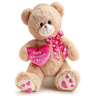 Large Valentine Bear
