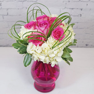 Raspberry Fizz Bouquet