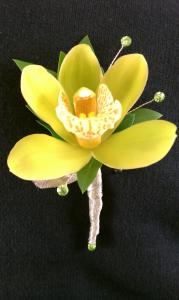 Mini Cymbidium Boutonniere