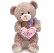 Valentine Mocha Bear