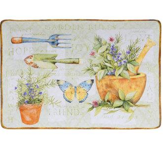 Herb Garden Rectangular Platter
