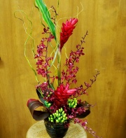 Regal Red Tropical Bouquet