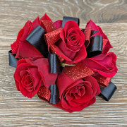 Red Romance Wristlet