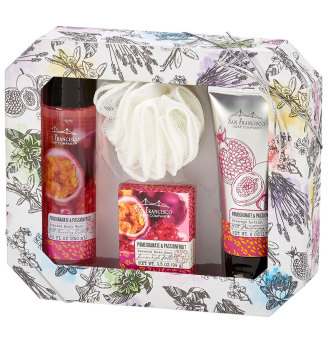 San Francisco Soap Pomegranate and Passionfruit Gift Set