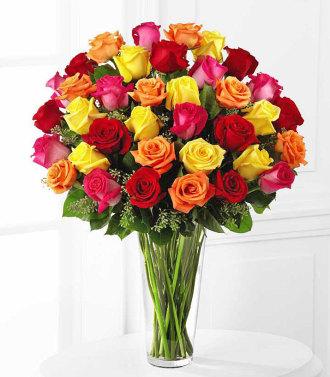 Exquisite Sparkle Rose Bouquet