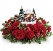 Thomas Kinkade's Jolly Santa