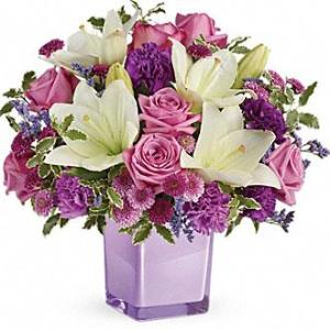 Premium Pleasing Purple Bouquet