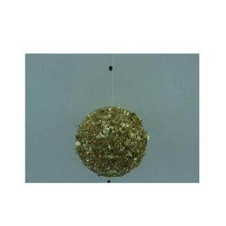 Glass Ornament - Gold