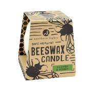 Clover & Honey Beeswax Candle