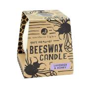 Lavender & Honey Beeswax Candle