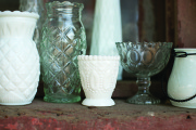 Rental Milk Glass Votive