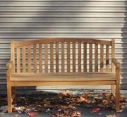 Rental Teak Bench