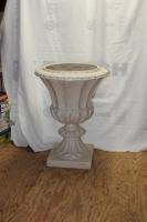 Rental White Urn