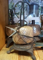 Ball of Twine on Iron Stand w/ Scissors