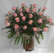 2 Dozen Geraldine Roses