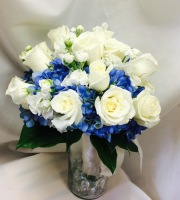 Moody Blue Bridal