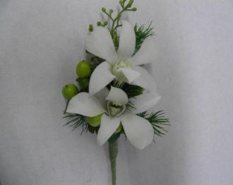 Cranes Creations Crystal Ice Boutonniere