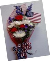 Crane's Creations Independence Day Bouquet