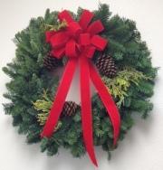 Crane's Creations Evergreen Wreath