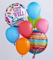 Get Well Balloon Bouquet