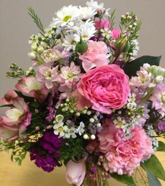 Crane\'s Creations Pink Petals Bouquet