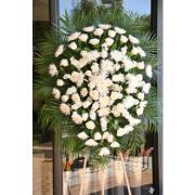 LA202 White Memorial Spray