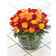 52 roses bowl design
