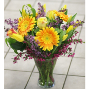 Bright Mixed Flower Arrangement