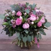 Peonies's  world bouquet