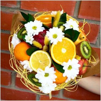 Brightful fruit bouquet