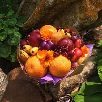 Fall Fruit Bouquet