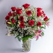 3 Dozen Radiant Rose